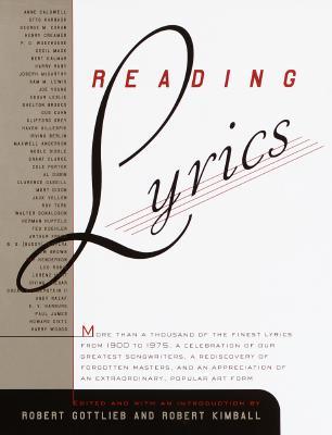 Reading Lyrics By Kimball, Robert (EDT)/ Gottlieb, Robert (EDT)